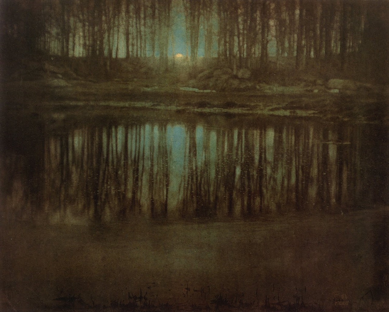 ysmf.Edward Steichen.moonrise