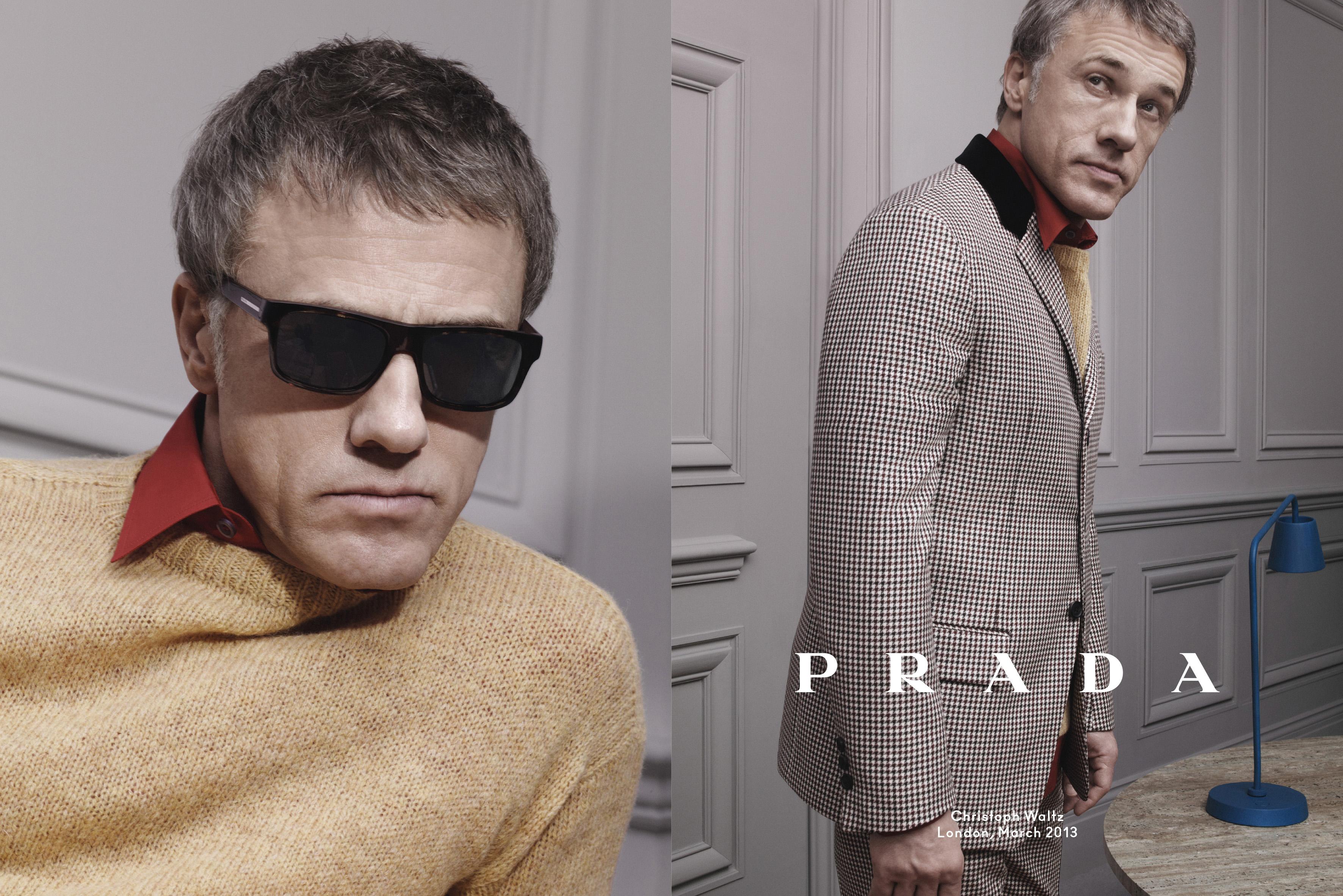 Prada_Menswear_FW13_Campaign_Christoph Waltz