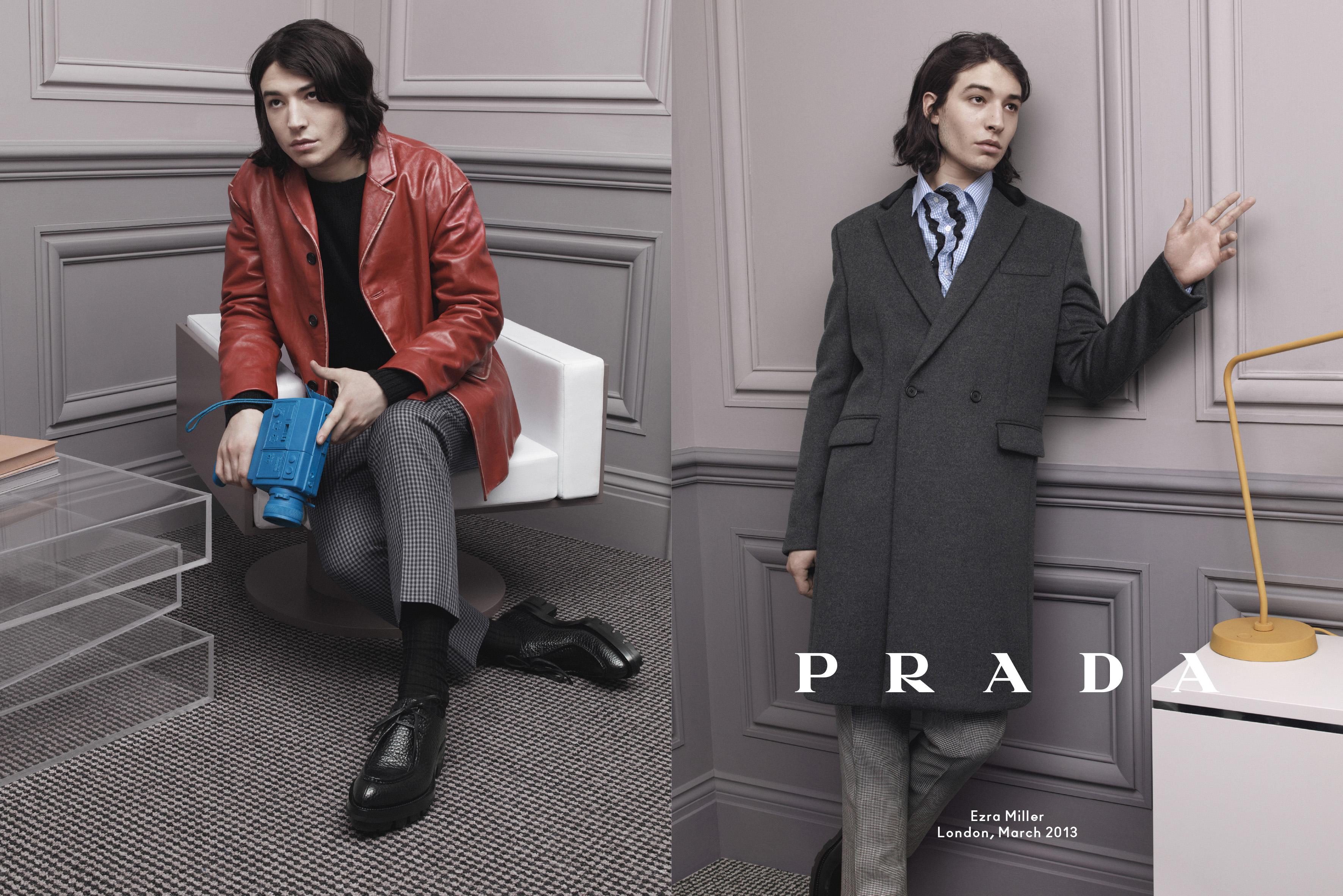 Prada_Menswear_FW13_Campaign_Ezra Miller