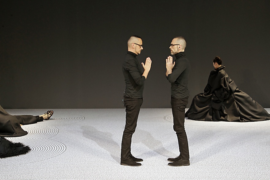 © PETER STIGTER  haute couture Viktor & Rolf in Paris