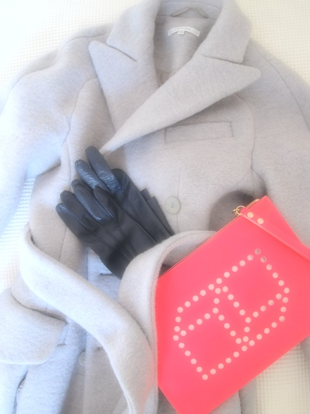 ysmf.carven.coat.pierre.hardy.neon.clutch
