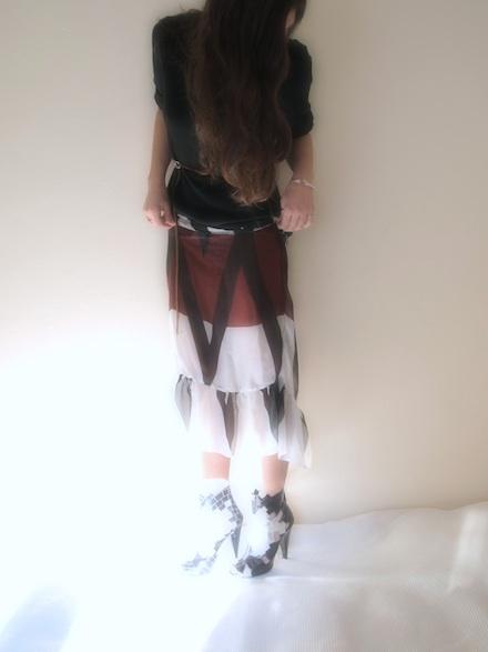 ysmf.v.society.sheer.maxi.skirt