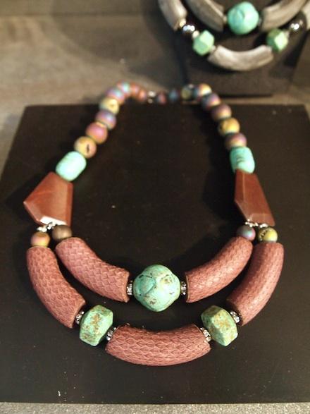 ysmf.katerina.psoma.snakeskin.necklace