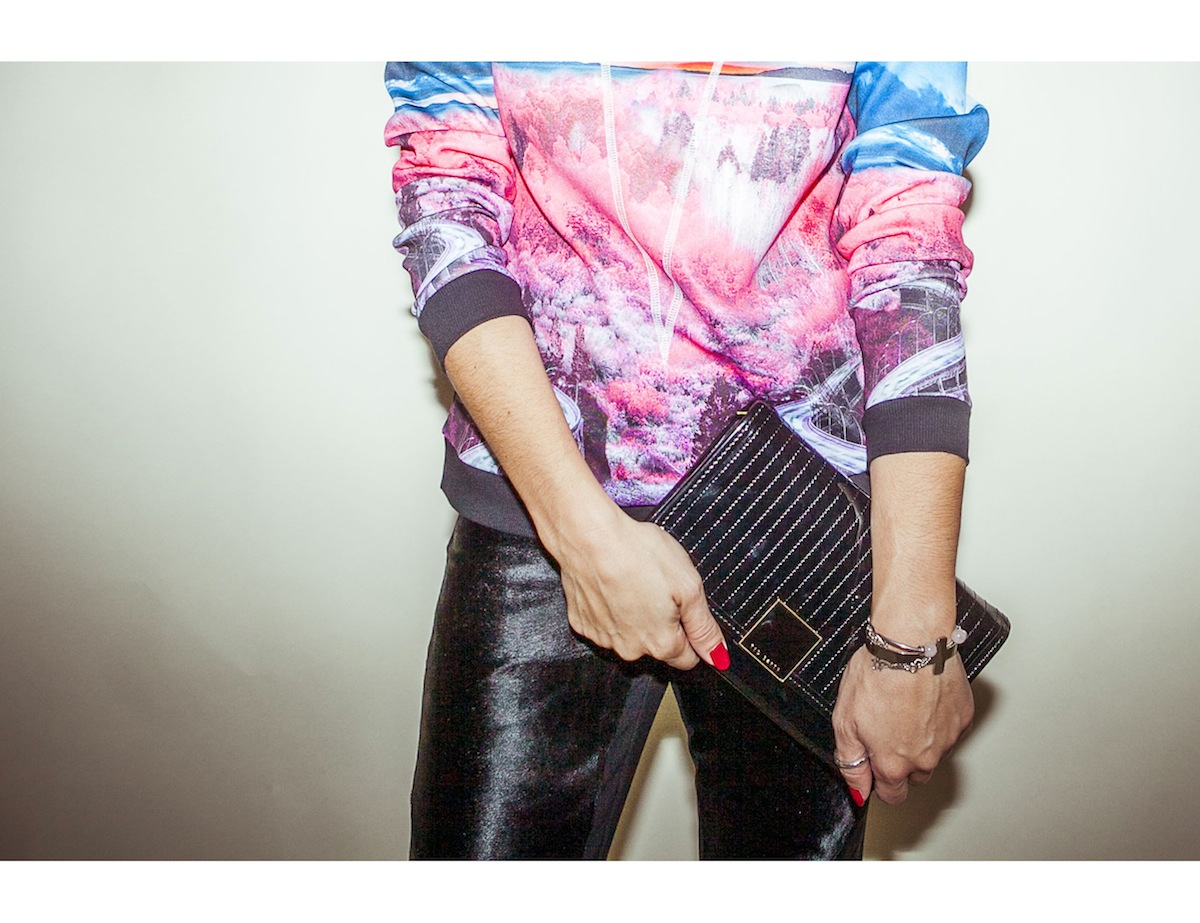 ysmf.ted.baker.patent.leather.clutch.bag