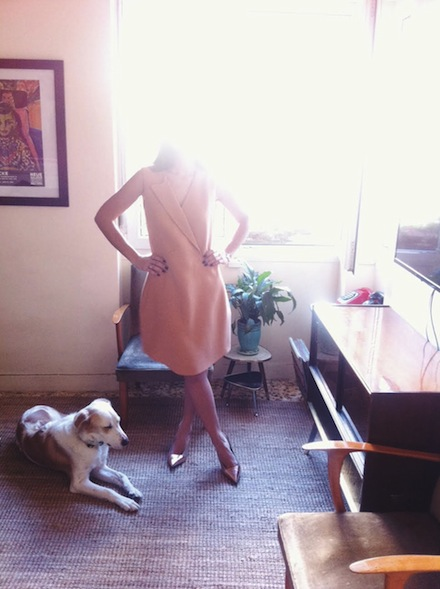 ysmf.carven.dress.see.by.chloe.pumps