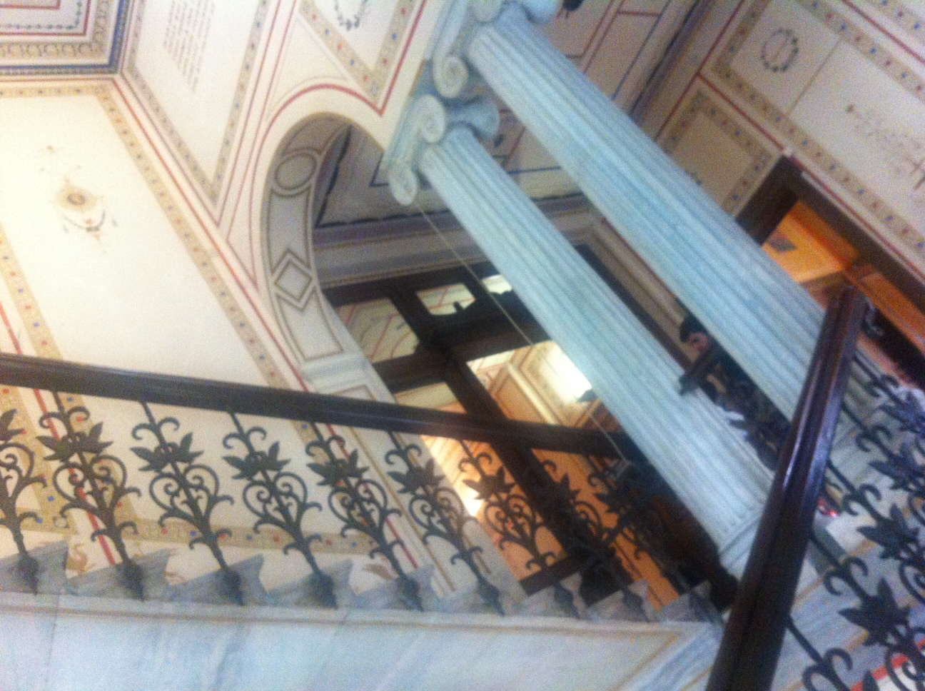 ysmf.numismatic.museum.staircase