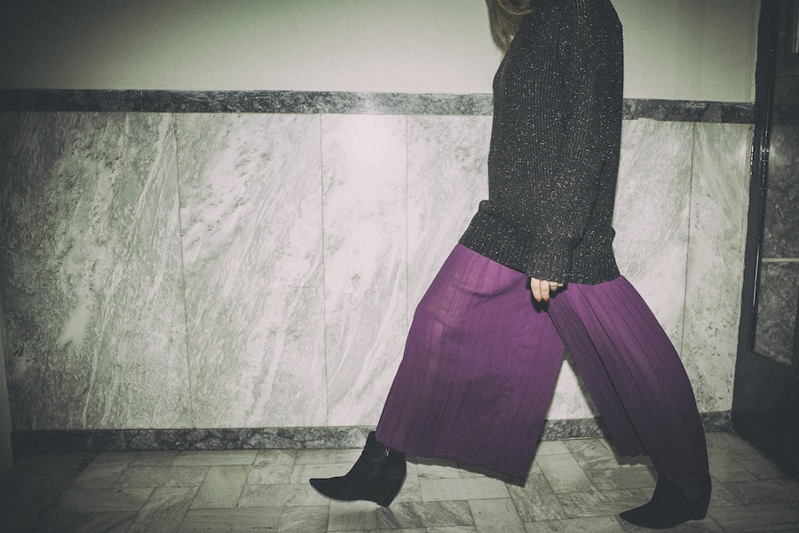 ysmf.sheer.pleated.pants