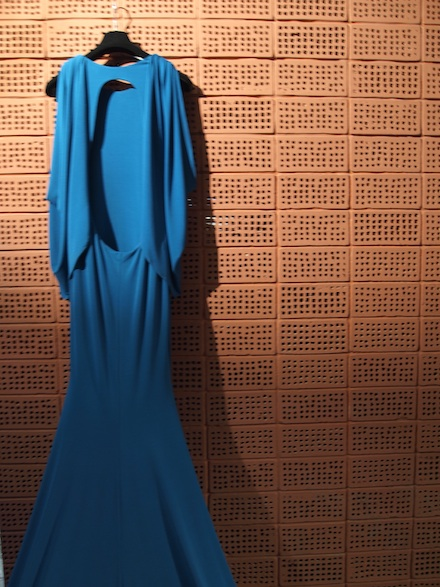 ysmf.stelios.koudounaris.blue.maxi.dress