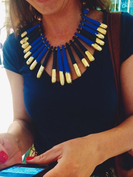 ysmf.maria.mastori.jewellery.blue.gold.leaves.