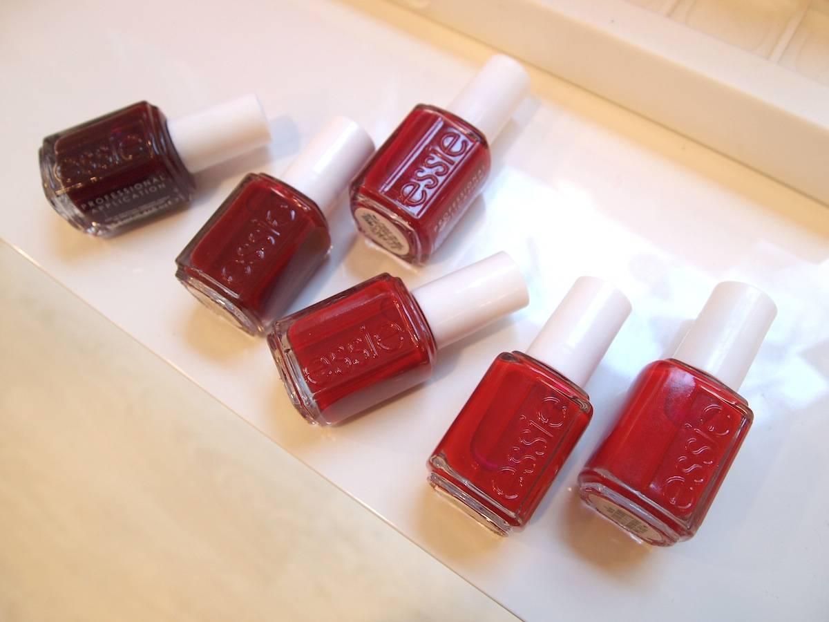 The festive reds of Essie | YouStrikeMyFancy