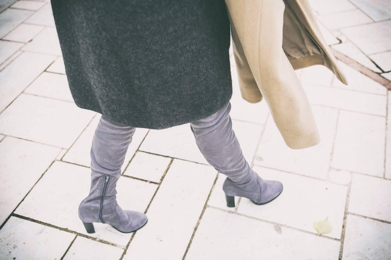 ysmf.sante.grey.thigh.high.boots