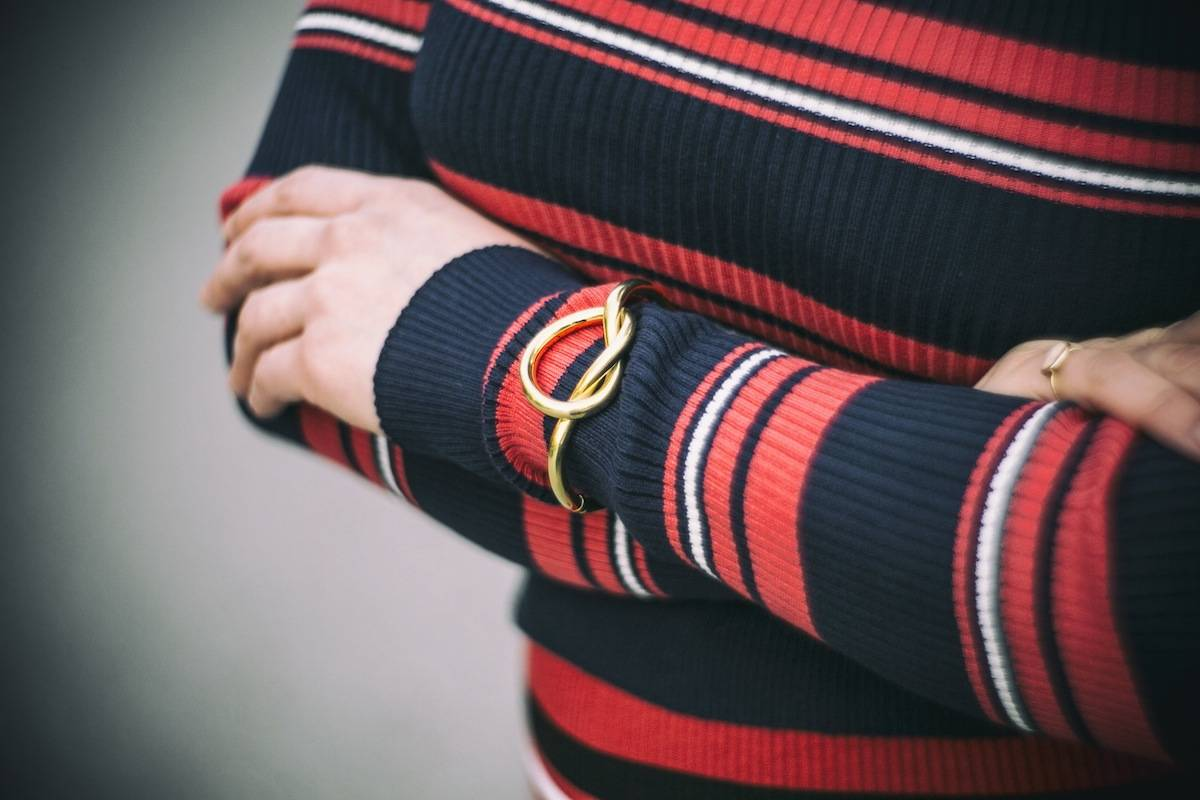 ysmf.vintage.gold.knot.bracelet