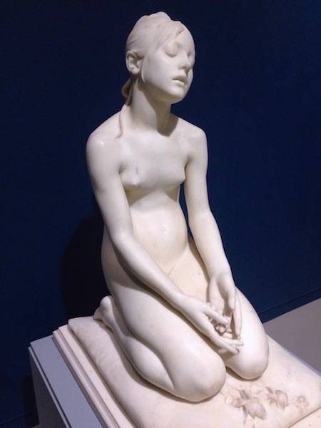 ysmf.magritte.museum.statue.of.little.girl