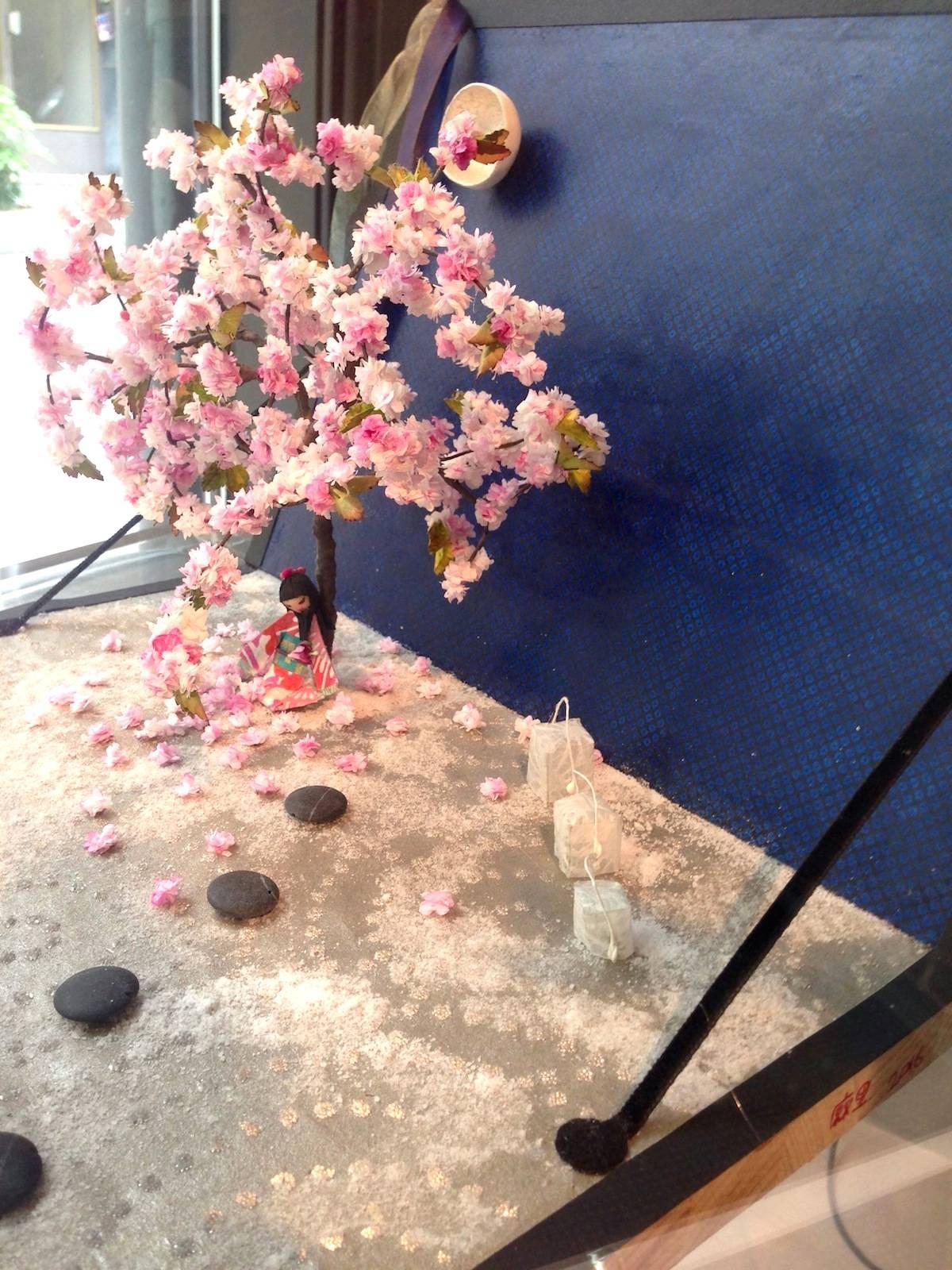 ysmf.mari.aoyama.art.cherry.blossoms
