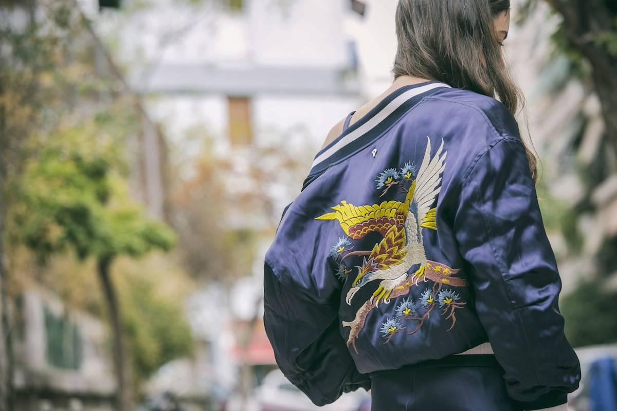 ysmf.despina.isopoulou.dondup.bomber.jacket