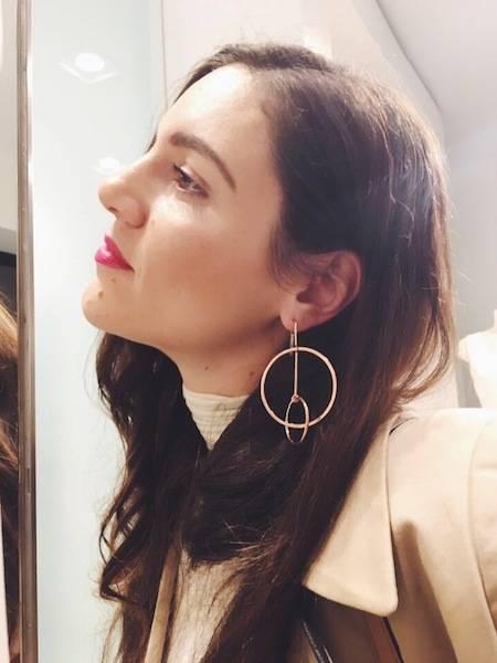 ysmf.sophia.kokosalaki.pink.gold.earring