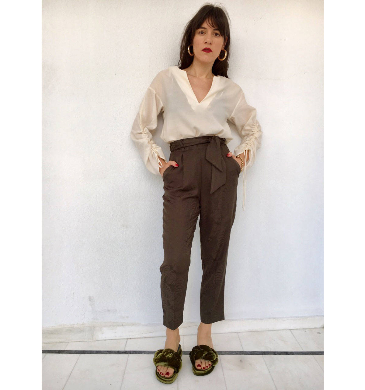 ysmf-hm-cargo-pants-white-blouse