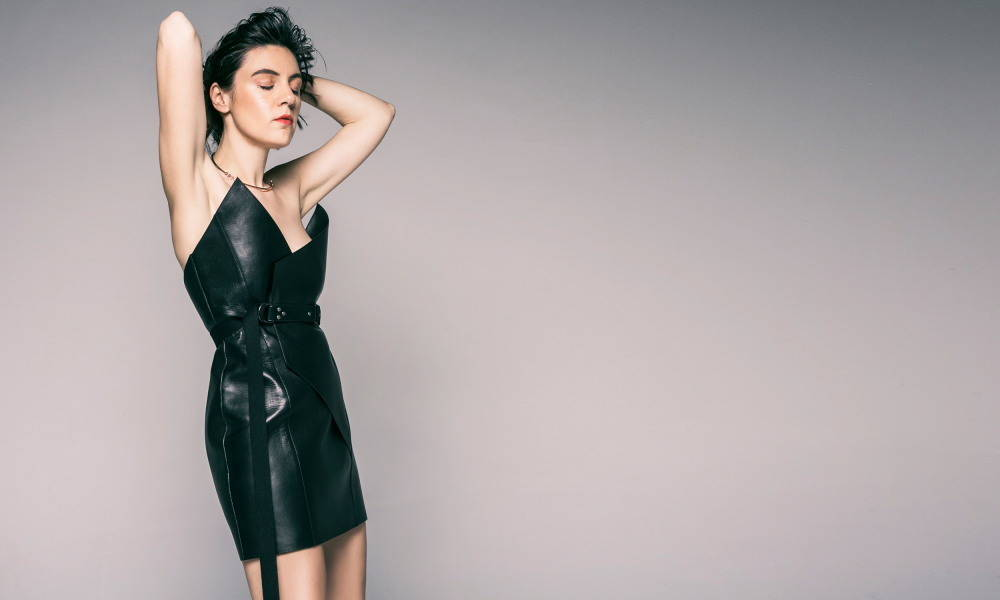 ysmf-saint-laurent-black-leather-dress
