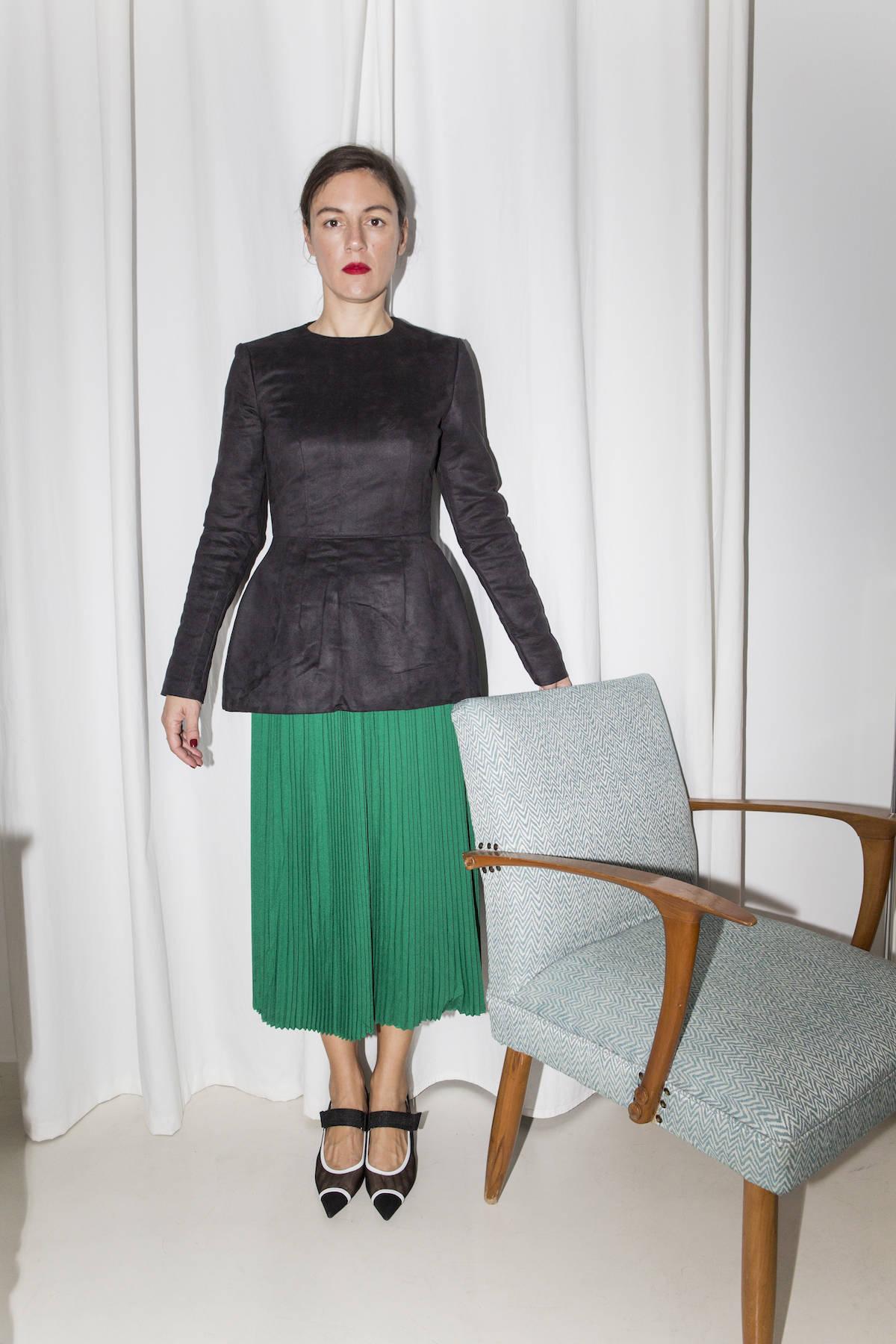 ysmf.the.v.society.pleated.dress