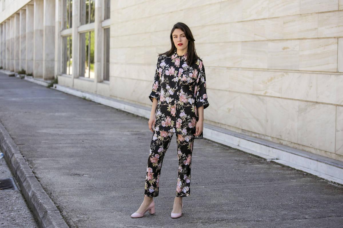 ysmf.milkwhite.pajama.suit.floral